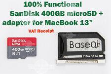 """Leer! 🔥 SanDisk A1 Ultra 400GB U1 Microsd baseqi Adaptador 4 MacBook Pro 13"""" A1502"""