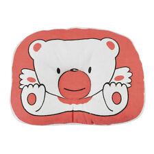 Bear Pattern Pillow Newborn Infant Baby Support Cushion Pad Prevent Flat Head