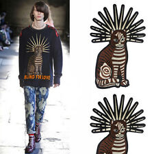 big cat patch Embroidered applique,Europe design cloth sew on cat