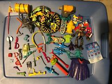 TMNT Vintage Teenage Mutant Ninja Turtles Lot of Accessories & Misc. (Playmates)