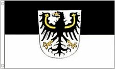 NEW 5 x 3 FOOT OSTPREUSSEN EAST PRUSSIA BLACK ORANGE WHITE EAGLE FLAG