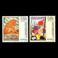 Luxembourg 2003 - EUROPA Stamps - Poster Art - Sc 1111/2 MNH