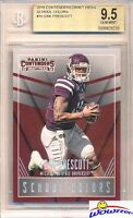 2016 Panini Contenders DP School Colors#16 Dak Prescott Rookie BGS 9.5 GEM MINT