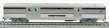 N Budd Passenger 72' Baggage Car Canadian Pacific (Silver/Maroon) (1-041335)