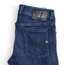 Diesel Uomo Sleenker Slim Skinny Elasticizzato Jeans Taglia W29 L28 APZ1012