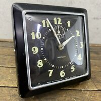 Westclox Big Ben Clock Vintage LOUD ALARM Square Art Deco La Salle Pat USA
