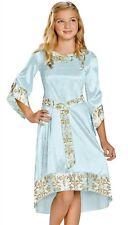 Princess Aurora Costume Dress Disney Maleficent Sleeping Beauty Blue - S, M, L -