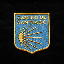 Andenken Souvenir Jakobsweg Jakobsmuschel Aufnäher Camino De Santiago Pilger Neu