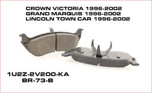 NEW OEM REAR LH & RH  BRAKE PADS 1996-2002 CROWN VICTORIA XU2Z-2V200-AAA