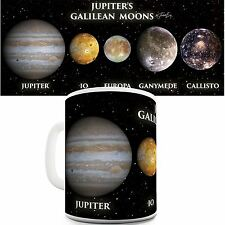 Jupiter's Moons Funny Novelty Coffee Tea Mug