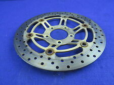 01 Suzuki SV650s Front Brake Rotor STRAIGHT SV 650s 650 #184 Caliper Wheel Disc
