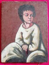 PIERROT  Quadro Miniatura dipinto