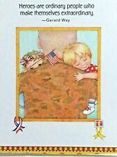Mary Engelbreit Handmade Magnet-Heroes Are Ordinary People Who