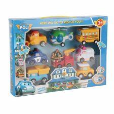 Robot Cars Toys Pull Back Vehicle Set Transformer Robot Cute Cartoon