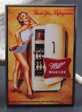 "Sexy Beer Fridge Pinup Girl 2"" X 3"" Fridge / Locker Magnet. GGA"