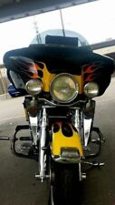 3-D Wind Deflectors Designed to Blend into Fairing Paintable USA Harley 1995-13