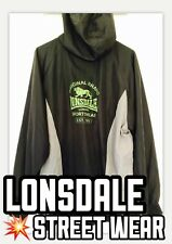 Lonsdale Jacket - Light Weight Material - Mens Size Medium - Very Good Condition