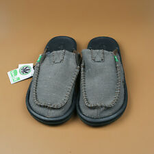 Sanuk Casual  Mens Shoes You Got My Back II Slipper Army Green Size US 10/Eur 43