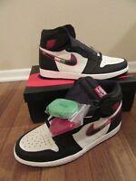 Nike Air Jordan 1 Retro High OG Size 11.5 Black Varsity Red Sail 555088 015 Star