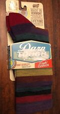 Darn Tough Phat Witch Light Cushion Size S Small Plum Stripe Merino Wool Socks