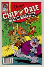 Chip 'n' Dale Rescue Rangers #2 - July 1990 Disney - TV show - Near Mint (9.2)