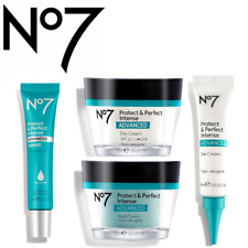 No7 Protect and Perfect Intense Advanced Serum/ Eye cream /Day Cream/Night Cream