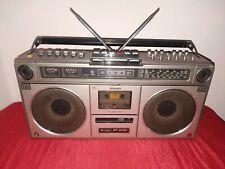 ghettoblaster boombox vintage SHARP GF 9090 / radio cassette stereo
