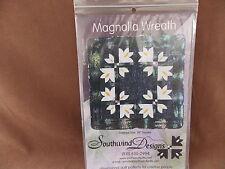 Magnolia Wreath Quilt Pattern Southwind Designs NIP