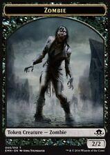 jeton-zombie Tuile-zombie Dragons of tarkir Magic