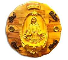 Virgin Mary Home Blessing Wall Decor Jesus Jerusalem Icon Holy Catholic Handmade