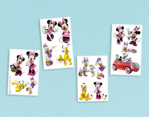 MINNIE MOUSE Tattoos Party Favours Loot Lolly Bag Birthday