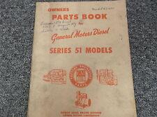 Detroit Diesel GM Series 51 Marine Flywheel Takeoff Shop Service Repair Manual