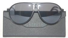 Lunettes de soleil style carrera champion noir mat UV400 Catégorie 3 UV400