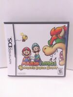 Mario & Luigi: Bowser's Inside Story (Nintendo DS, 2009) COMPLETE Fast Shipping!