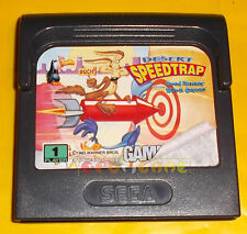 DESERT SPEEDTRAP (Road Runner Wile E Coyote) Game Gear ○○○○○ SOLO CARTUCCIA
