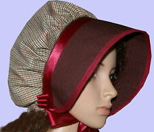 Victorian ladies bonnet costume fancy dress Dickensian Christmas carol singer dt