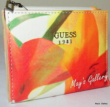 Guess Bifold Wallet Handbag Hand Bag Purse Coin Case Pouch Card ID Bill Pocket