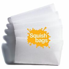 "Squish Bags - Rosin Screen Tea Bags - 90 micron (2.5"" x 4.5"") - 50 pack"