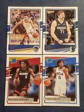 2020-21 Donruss Basketball Base Veteran and Rated Rookies 1-250 You Pick