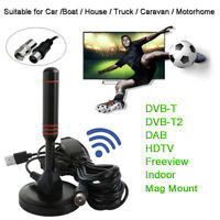 2019 New TV Antenna Aerial DVB-T Best High Definition Caravan Digital Freeview