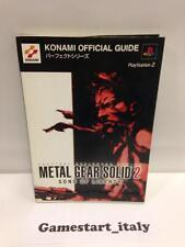 METAL GEAR SOLID 2 SONS OF LIBERTY JAP VERSION (GUIDA STRATEGICA) GUIDE