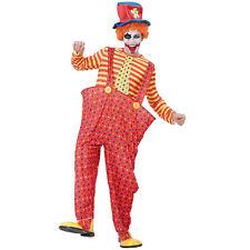 HOOP CLOWN ADULT FANCY DRESS CIRCUS COSTUME
