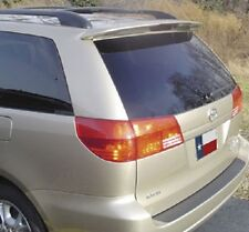 FITS TOYOTA SIENNA 2005-2010 BOLT-ON REAR TRUNK SPOILER - UNPAINTED