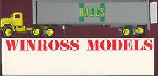 Hall's Motor Transit '80 Winross Truck