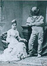 Vittoriana Steampunk Deep Sea Diving Diver Casco Sarah Bernhardt Ocean Gotico