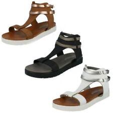 36 Scarpe da donna cinturini alla caviglia bianco