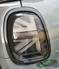 Mini Gen 3 Cooper S JCW F55 Rear Taillight covers Genuine Carbon Fiber