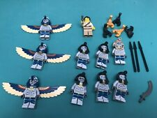 Authentic LEGO Lot of Pharaoh's Quest minifigures Mummy Warriors VINTAGE