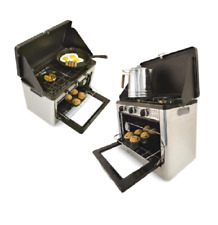 Stove-Top Oven Camp Chef Portable Outdoor Cooking Stainless Steel Matchless Comb