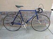 "VINTAGE BIANCHI PIAGGIO SPORT SS 27"" WHEEL ROAD BICYCLE 58 CM"